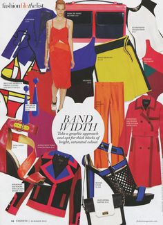 Fashion Magazine highlights their summer trends! / Off figure styling: Breanna Gow, Judy Inc / Off figure photography: Carlo Mendoca / Runway Photography: Peter Stigter