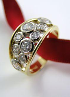 Rivers Jewellers: A Bold Diamond Dress Ring!