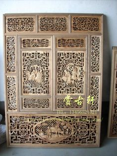 Ancient Chinese Furniture | Antique furniture ancient Chinese classical flower windows partition ...