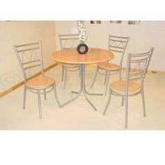 Was Now Dinnite Set Natural Wood Dining Set With 2 Chairs