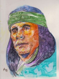 Rudy Ramos as Geronimo by Scotty Phillips