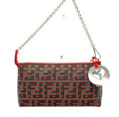 Fendi Heart Zucca Baguette Handbag - $485.00