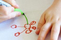 Four fabric art ideas for kids - a great springboard to creativity for young children.