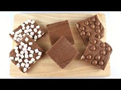 She Mixes Condensed Milk To Chunks Of Chocolate, Creates A Sweet & Easy Holiday Snack
