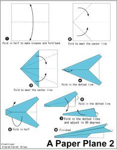 Origami Paper Plane 3