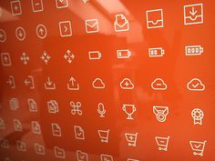 Outline icons freebie