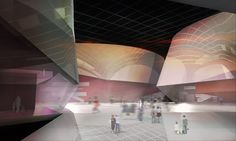 Taipei Performing Arts Center Proposal by Architects Collective (Center)