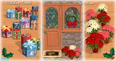 Add some extra holiday touch around the house with these decorative items.  Found in TSR Category 'Objects'