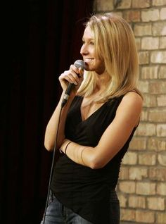 Nikki Glaser - (born June 1, 1984) is an American stand-up comedian, podcast and co-host of Nikki and Sara Live on MTV.