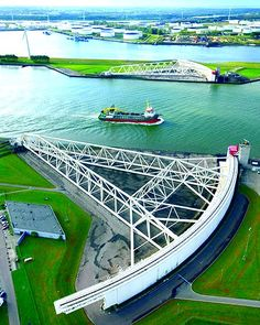Rotterdam/Waterweg - Maeslant Stormvloedkering