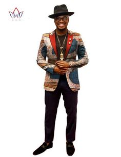 BRW African Jacket For Men African Long Sleeve Top Mens African Clothing Dashiki African Print Blazer Men Outfits Fit African Male Suits, African Clothing For Men, African Wear, African Style, Nigerian Men Fashion, African Print Fashion, African Fashion Dresses, African Prints, Dope Fashion