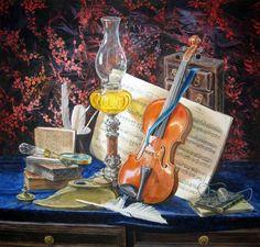 Мелодия для скрипки (638x609, 461Kb)