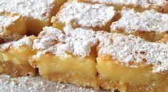 Onweerstaanbare lemon bars – zomers citroengebak om van te smullen – Ciao tutti…