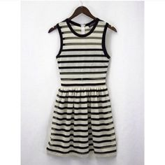 Black & White Stripe Knit Dress This gorgeous dress is ideal for this summer season. Lined chest and skirt. Comes in Small, Medium, and Large. Comment below with your size. Offers will only be considered using the offer feature. 10% off all bundles using the bundle feature. Relished Dresses Midi