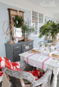 Dear Lillie: Christmas Sunroom at Bluestone Hill