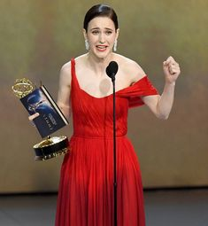 Rachel Brosnahan Jokes She's Going to 'Make Out' with Her New Emmy (and 'Touch its Butt') Allison Janney, Issa Rae, Rachel Brosnahan, Tracee Ellis Ross, Comedy Series, Female Stars, Gilmore Girls, Beautiful Actresses, Making Out