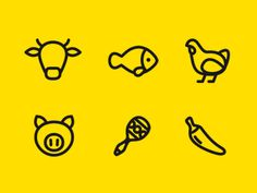 Dribbble - Burgerman Icon by Stolz #icons #iconography