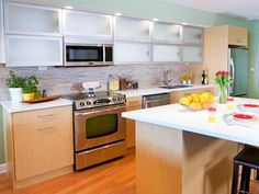 HGTV has inspirational pictures, ideas and expert tips on stock kitchen cabinets as an option for an economical kitchen design.