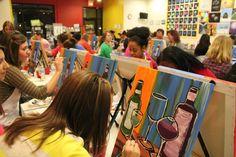 The Paint Pub - Art Studio Cafe   Maple Grove, MN