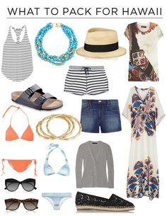 How To Dress For A Trip To Hawaii   What To Pack