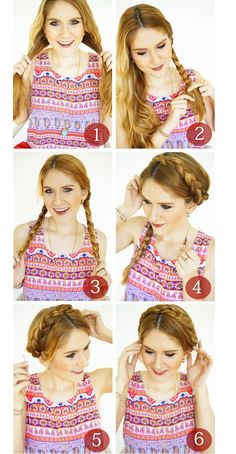 Easy Milkbraids Tutorial for Summer! -- Click through for step by step instructions :)