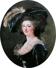 Labille-Guiard (1749–1803) Portrait of Madame Alexis Janvier La Live de la Briche, née Adélaïde Prévost
