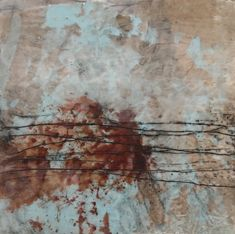 encaustic work Abstract Art, Painting, Painting Abstract, Painting Art, Paintings, Painted Canvas, Drawings