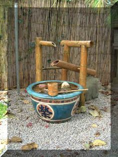 how to make a SHISHI (a rocking bamboo fountain that scares off deer)