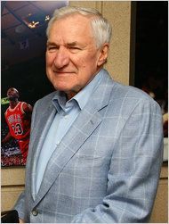 """Dean Smith, the coaching innovator who won two national championships at North Carolina, an Olympic gold medal in 1976 and induction into basketball's Hall of Fame more than a decade before he left the bench, died Feb 7th. He was 83.  The retired coach died """"peacefully"""" at his North Carolina home Saturday night, the school said in a statement Sunday from Smith's family. He was with his wife and five children."""