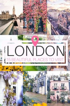 Breathtakingly beautiful places in London you won't want to miss on any visit to the capital of the UK (London, England). Some of the quirkiest and prettiest attractions you must visit!