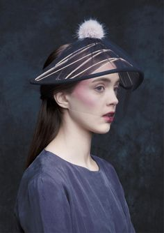 Lucille by Sophie Beale Millinery
