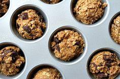 Dark Chocolate Oatmeal Cookie Cupcakes 2