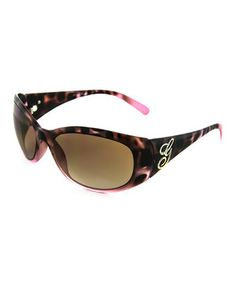 Another great find on #zulily! GUESS Purple Spot 'G' Sunglasses - Women by GUESS #zulilyfinds