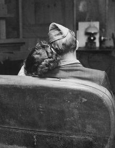 couples in love in the 1940s | military couples military love military photos vintage couple ...