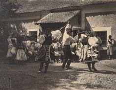 Šátečkový dance, Grape Lhota u Straznice, Czech Republic, 1907