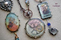 Jen Cushman ICE Resin jewelry