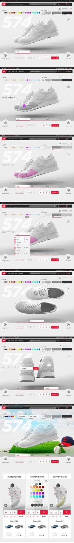 New Balance on Web Design Served