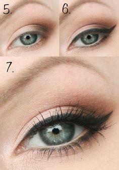 awesome Красивый макияж для голубых глаз (50 фото) — Повседневный и вечерний образ пошагово Читай больше http://avrorra.com/makijazh-dlja-golubyh-glaz-poshagovo-foto/