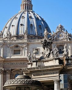 Rome Photography - Vatican Print - St. Peters Cathedral Photo - Italian Architecture Photograph - Rome Italy -