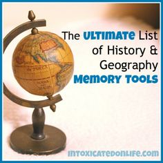 The Ultimate List of History and Geography Memory Tools!