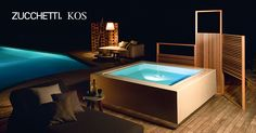Zucchetti. Kos extend the Outdoor and Wellness collection: Quadrat Pool and Wazebo