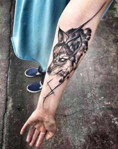 Wolf by Inez Janiak