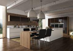 Cozinha • A cozinha é a preferência da casa para muita gente, e nem precisa saber cozinhar. Se reunir para provar as delícias e jogar conversa fora já é um ótimo motivo para adorar o lugar. Por esses e outros motivos, planejar uma cozinha ampla e confortável é fundamental para ótimas lembranças! --  Siga os painéis do Pinterest Oficial Golden Planejados! • Decoração • Arquitetura • Design • Design de interiores • Inspiração • Ambientes • Móveis planejados • Dicas