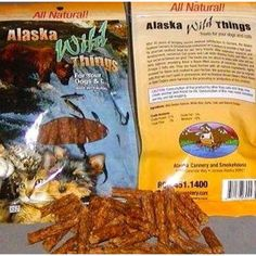 ALASKA WILD THINGS CAT AND DOG TREATS (3 OZ) @ You can learn more by visiting the image link. (This is an affiliate link and I receive a commission for the sales)