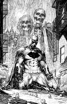 Batman Black & White by Marc Silvestri