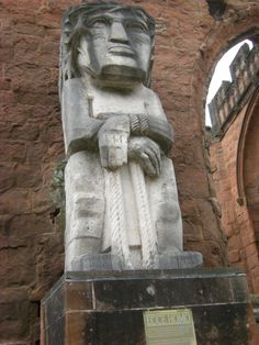 Ecce Homo by Jacob Epstein, Coventry Cathedral