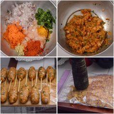 Chicken Items, Chicken Snacks, Fried Chicken, Chicken Recipes, Chicken Tenders, Veg Recipes, Indian Food Recipes, Vegetarian Recipes, Cooking Recipes