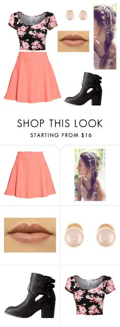 """Sans titre #902"" by stalialightwood ❤ liked on Polyvore featuring H&M, Kenneth Jay Lane and Charlotte Russe"