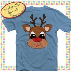 Reindeer svgrudolph svgchristmas svgchristmas cut