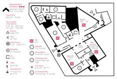 Tactile map of Wolverhampton Gallery used combined with RFID mouse audio system.: